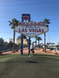 "alt"" me under las Vegas sign"""